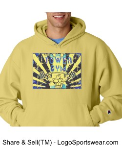 Reverse Weave Hooded Champion Sweatshirt Design Zoom